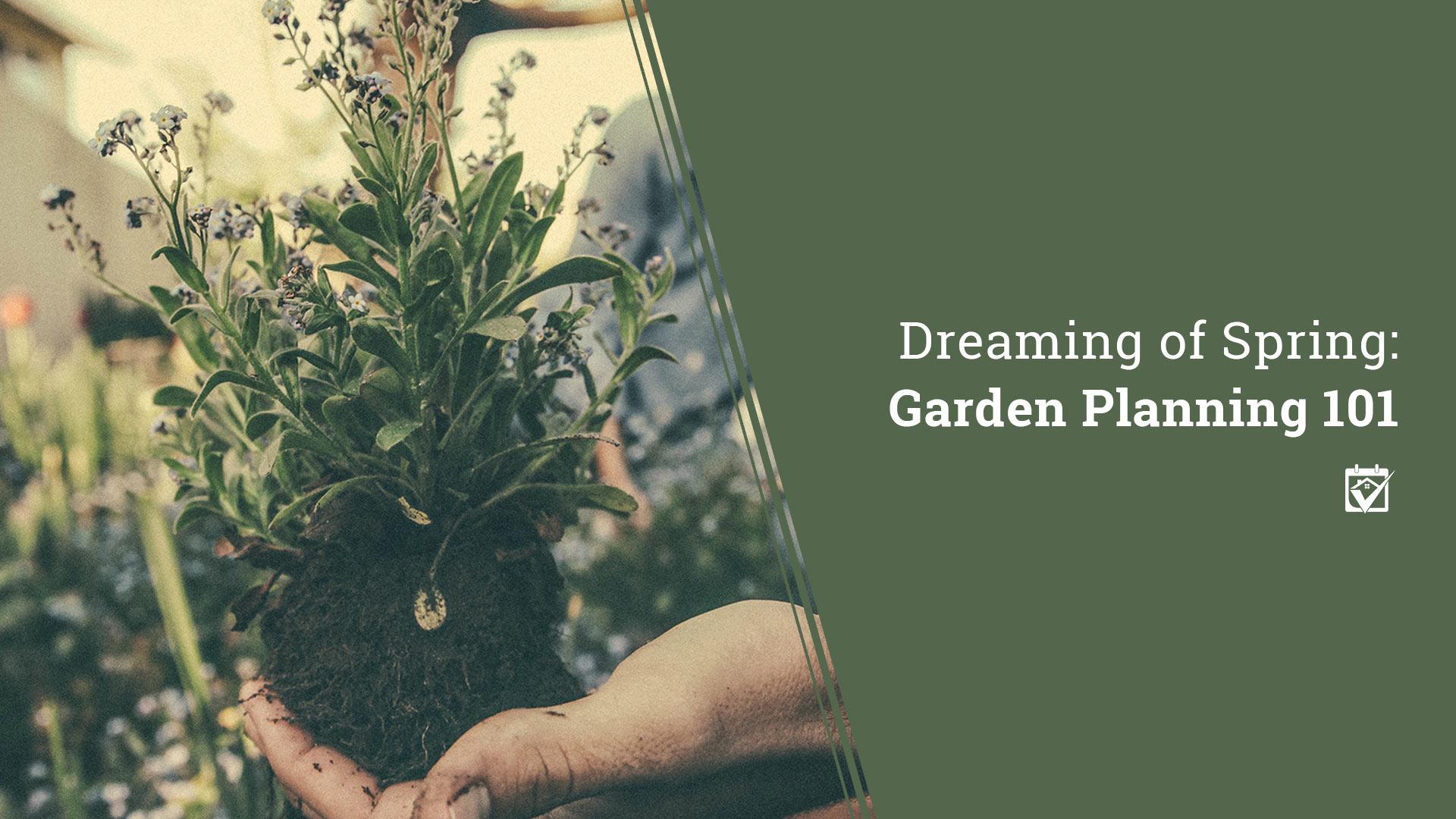 HomeKeepr – Spring Garden Planning